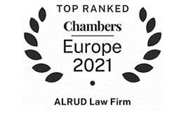 ALRUD remains being the leading Russian law firm in Chambers Europe 2021 rating