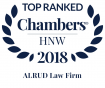 ALRUD remains being the leading Russian law firm in Chambers HNW 2018 rating